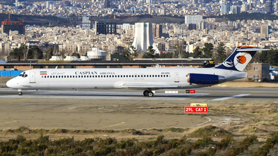 A picture of EPCPX - McDonnell Douglas MD83 - Caspian Airlines - © Mohammad Rozve