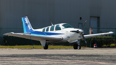 N819LA - Beechcraft A36 Bonanza - Pan Am International Flight Academy