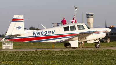 N6899V - Mooney M20F - Private
