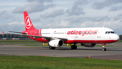 A picture of TCATH - Airbus A321231 - AtlasGlobal - © Dutch