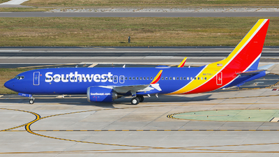 N8731J - Boeing 737-8 MAX - Southwest Airlines