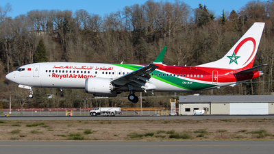 CN-MAY - Boeing 737-8 MAX - Royal Air Maroc (RAM)