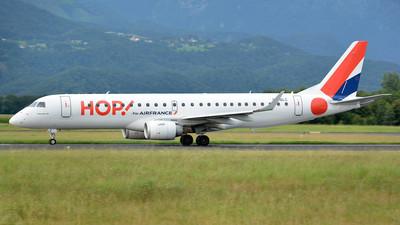 A picture of FHBLC - Embraer E190LR - Air France - © Davor - Sierra5.net