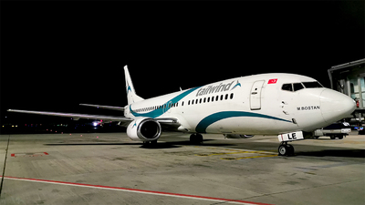 A picture of TCTLE - Boeing 7374Q8 - Tailwind Airlines - © Turkay Oksuz