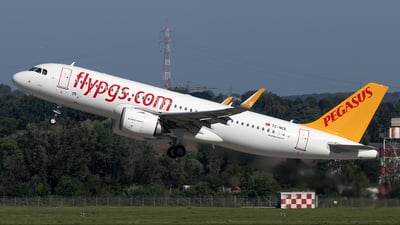 A picture of TCNCE - Airbus A320251N - Pegasus Airlines - © Christoph Flink