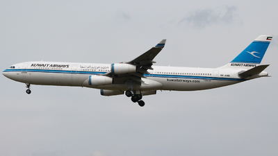 9K-ANB - Airbus A340-313 - Kuwait Airways