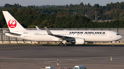 JA620J - Boeing 767-346(ER) - Japan Airlines (JAL)