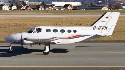 D-IFFM - Cessna 414 - Heli-Flight