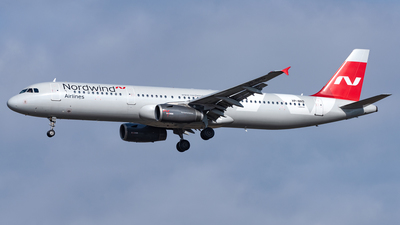 A picture of VPBRD - Airbus A321232 - Nordwind Airlines - © AKH