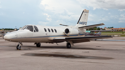 N455FD - Cessna 501 Citation - Private