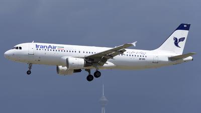 EP-IED - Airbus A320-212 - Iran Air