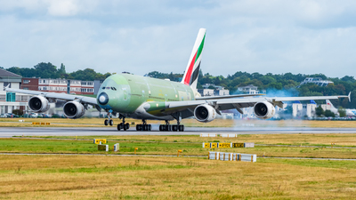 F-WWSO - Airbus A380-842 - Airbus Industrie