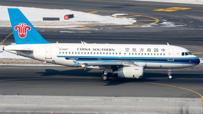 B-6207 - Airbus A319-132 - China Southern Airlines