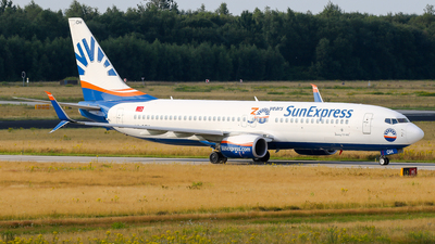 A picture of TCSOH - Boeing 7378HC - SunExpress - © C. v. Grinsven