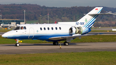 TC-TEK - British Aerospace BAe 125-800A - Private