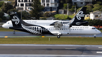 ZK-MVO - ATR 72-212A(600) - Air New Zealand