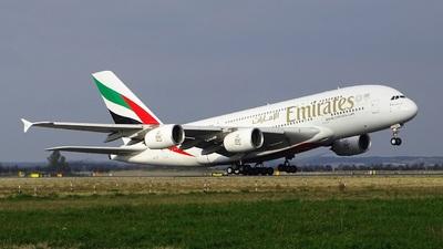 A6-EET - Airbus A380-861 - Emirates