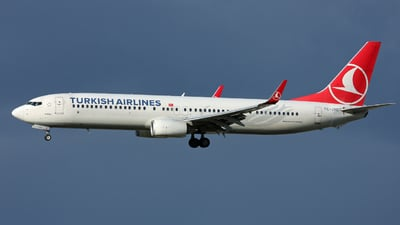 A picture of TCJYC - Boeing 7379F2(ER) - Turkish Airlines - © Hawkwind