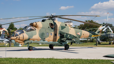 114 - Mil Mi-24D Hind D - Hungary - Air Force