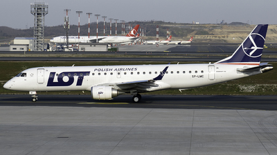 SP-LMC - Embraer 190-100STD - LOT Polish Airlines