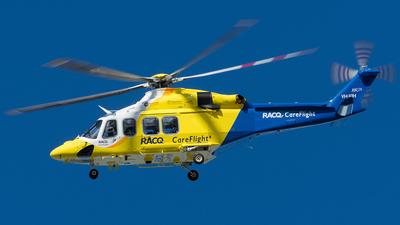 VH-XIH - Agusta-Westland AW-139 - RACQ Careflight
