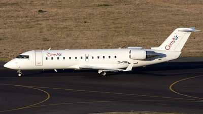 ZS-CMR - Bombardier CRJ-100ER - CemAir