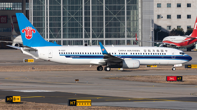 A picture of B1237 - Boeing 73781B - China Southern Airlines - © liang TR