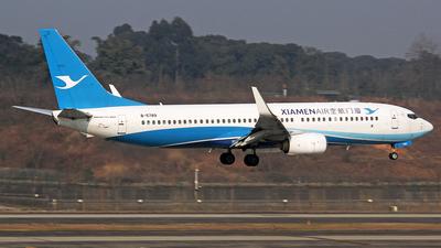 A picture of B5789 - Boeing 73785C - Xiamen Air - © YuPeng Liu