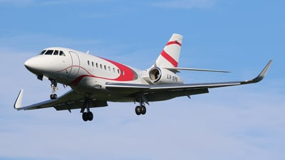 LX-EPE - Dassault Falcon 2000LX - Global Jet Luxembourg