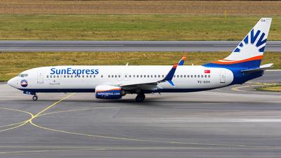 TC-SOA - Boeing 737-8HC - SunExpress