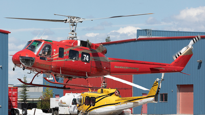 C-FFJY - Bell 205A-1 - Guardian Helicopters
