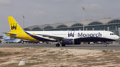 G-ZBAJ - Airbus A321-231 - Monarch Airlines