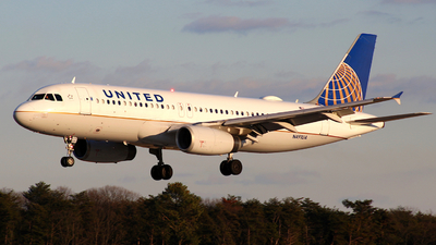 A picture of N491UA - Airbus A320232 - United Airlines - © HiFlyer