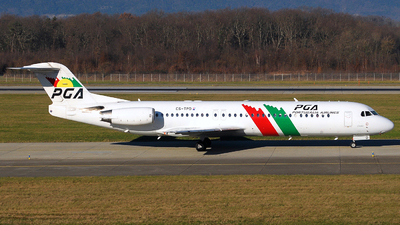 CS-TPD - Fokker 100 - PGA Portugália Airlines