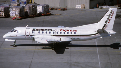 N346BE - Saab 340A - Business Express (BEX)