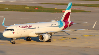 A picture of DAEWW - Airbus A320214 - Eurowings - © Justin Stöckel