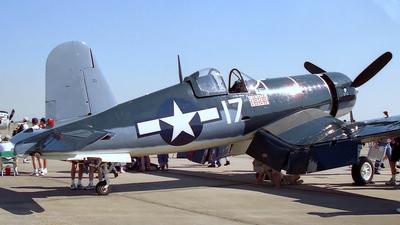 N448AG - Goodyear FG-1D Corsair - Private
