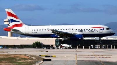 A picture of GEUUK - Airbus A320232 - British Airways - © Javier Rodriguez - Amics de Son Sant Joan
