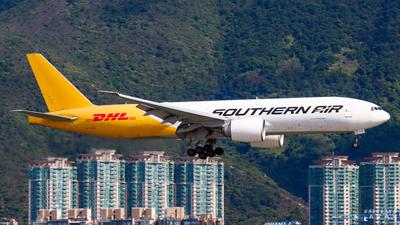 A picture of N714SA - Boeing 777FZB - DHL - © Chow Kin Hei - AHKGAP