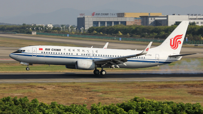 B-1761 - Boeing 737-89L - Air China