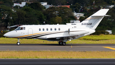 N488AM - Hawker Beechcraft 800XP - Private