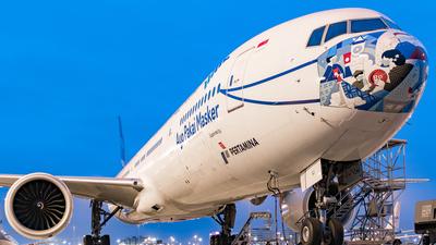 PK-GIJ - Boeing 777-3U3ER - Garuda Indonesia