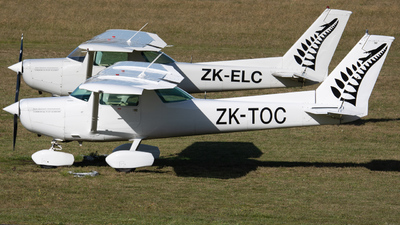ZK-TOC - Cessna 152 - New Zealand International Commercial Pilot Academy