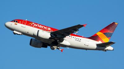 N589AV - Airbus A318-111 - Avianca