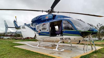 HK-4778 - Eurocopter EC 145 - Helistar Colombia