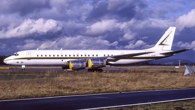 N728A - Douglas DC-8-72 - Saudi Aramco Aviation