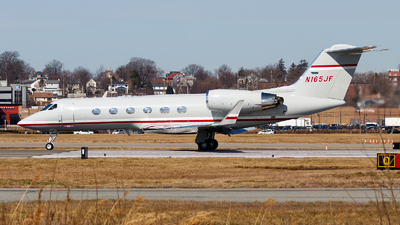 N165JF - Gulfstream G-IV(SP) - Private