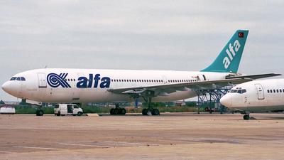 TC-ALN - Airbus A300B4-103 - Air Alfa
