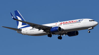 A picture of TCJZV - Boeing 7378AS - Turkish Airlines - © Mehrad Watson - AirTeamImages