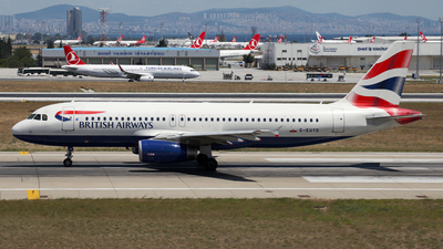 G-EUYD - Airbus A320-232 - British Airways